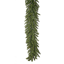 9 Foot Camdon Garland 150 DuraLit Clear Lights