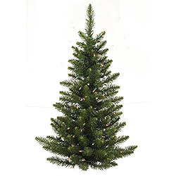 3 Foot Camdon Fir Artificial Christmas Tree 50 LED Wrm White Lights