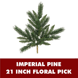 Imperial Pine Decorative Artificial Christmas Spray Set of 12  Unlit