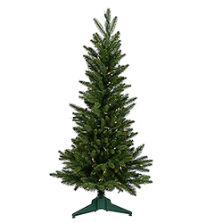 3 Foot Frasier Fir Artificial Christmas Tree 100 DuraLit Clear Lights
