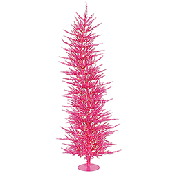 3 Foot Pink Laser Artificial Christmas Tree 50 Pink Lights
