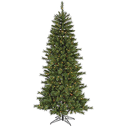 7 Foot Newport Mix Pine Artificial Christmas Tree - 350 Multi Lights
