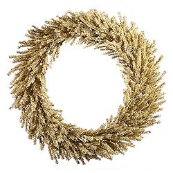 24 Inch Champagne Wreath