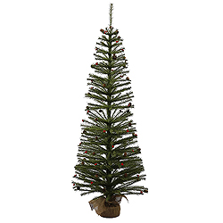 3 Foot Fresh Pistol Berry Pine Artificial Christmas Tree - Unlit