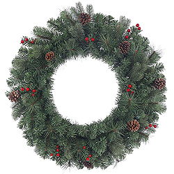 30 Inch Wesley Mixed Pine Wreath