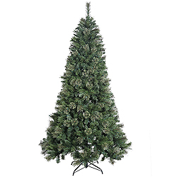 6.5 Foot Butte Mixed Pine Artificial Christmas Tree Unlit