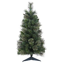 3 Foot Butte Mixed Pine Artificial Christmas Tree - Unlit
