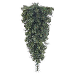 30 Inch Classic Mixed Pine Artificial Christmas Teardrop Unlit