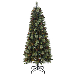 6 Foot Reno Mixed Pine Artificial Christmas Tree Unlit