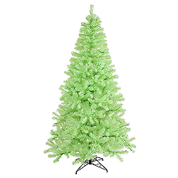 9 Foot Chartreuse Artificial Christmas Tree 700 Green Lights
