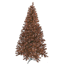 9 Foot Mocha Artificial Christmas Tree 700 Clear Lights