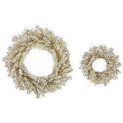 Champagne Wreath Set 18 Inch And 10 Inch Wreathes