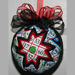 3 Inch Bingo! Ornament