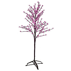 6 Foot Pink Cherry Tree 108 LED Lights