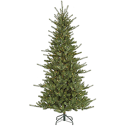 6.5 Foot Medium Colorado Spruce Artificial Christmas Tree 500 DuraLit Clear Lights