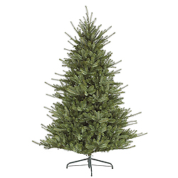 6.5 Foot Colorado Spruce Artificial Christmas Tree 480 LED Warm White Lights