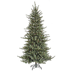 55 foot medium colorado blue spruce artificial christmas tree 400 led multi lights - Blue Spruce Artificial Christmas Tree