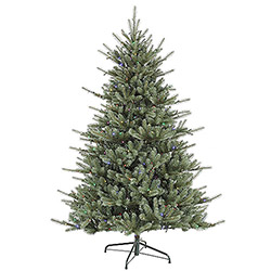 7.5 Foot Colorado Blue Spruce Artificial Christmas Tree 720 LED Multi Lights