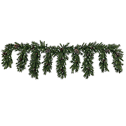 9 Foot Ashberry Icicle Garland