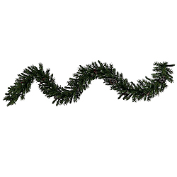 9 Foot Ashberry Pine Garland