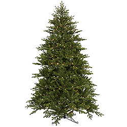 8.5 Foot Jersey Frasier Artificial Christmas Tree - 950 Dura-Lit Clear Lights