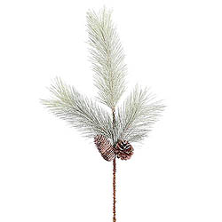 Frosted Bellevue Pine Decorative Artificial Christmas Spray Set of 24 Unlit