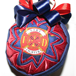 3 Inch Fire Fighters Ornament
