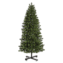 7.5 Foot Slim Grand Teton Artificial Christmas Tree Unlit