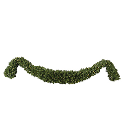 12 Foot Teton Swag Garland 300 LED Warm White Lights