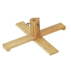 27 Inch Wood Artificial Christmas Tree Stand