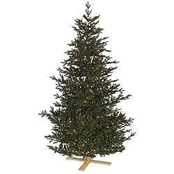 6.5 Foot Western Frasier Artificial Christmas Tree - 400 LED Warm White Lights