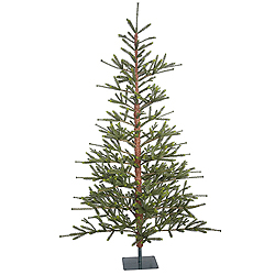 7 Foot Bed Rock Pine Artificial Christmas Tree Unlit