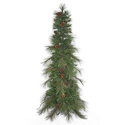 12 Foot Big Cascade Pine Artificial Christmas Tree Unlit