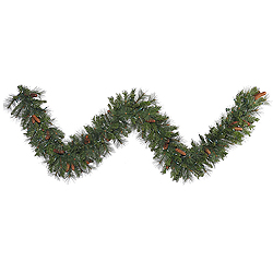 9 Foot Savannah Mixed Pine Garland