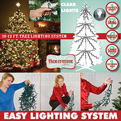 1950 Clear Christmas Tree Lights For A 10 To 12 Foot Christmas Tree