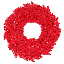 48 Inch Red Fir Wreath