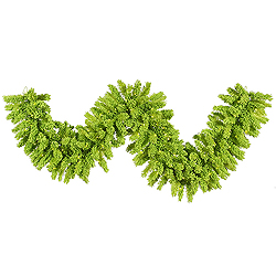 9 Foot Lime Green Fir Garland