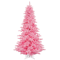 14 Foot Pink Fir Artificial Christmas Tree 2250 Pink Lights