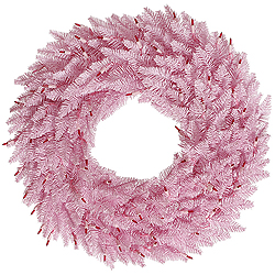48 Inch Pink Fir Wreath