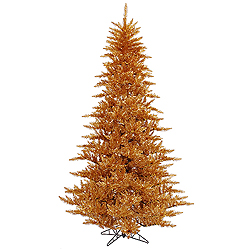5.5 Foot Copper Fir Artificial Christmas Tree Unlit