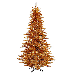 14 Foot Copper Fir Artificial Christmas Tree 2250 Clear Lights