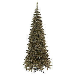 10 Foot Antique Champagne Fir Artificial Christmas Tree Unlit