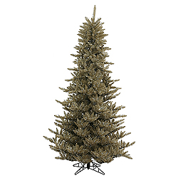 9 Foot Antique Champagne Fir Artificial Christmas Tree Unlit