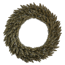 60 Inch Antique Champagne Fir Wreath