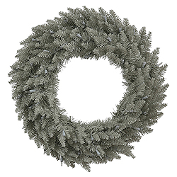 24 Inch Grey Fir Wreath