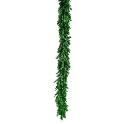 8.5 Foot Green Foil Garland