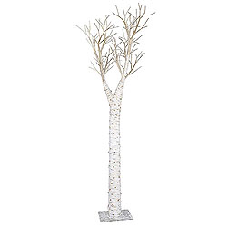 8 Foot Birch Artificial Christmas Tree Unlit