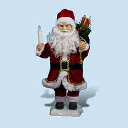 24 Inch Santa Claus Animated Figurine