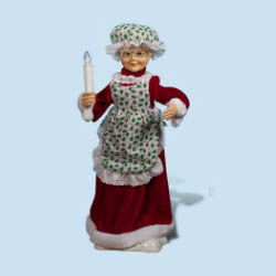 24 Inch Mrs Claus Animated Figurine