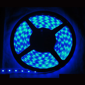 153 Foot Dimmable LED Blue Tape Lights